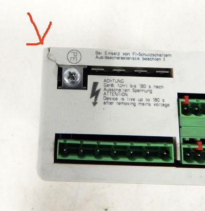 Lenze Frequenzumrichter 33.8202_E 0,75kW  ID:00384004  - used - – Bild 3