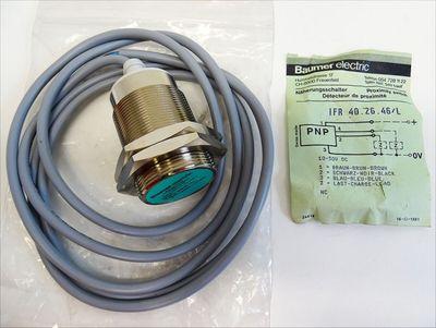 Baumer electric IFR 40.26.46/L IFR402646/L Näherungsschlater -unused- – Bild 1
