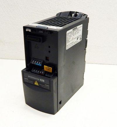 Siemens Micromaster 420  6SE6420-2UC11-2AA1   Vers: B02/1.17   - used - – Bild 1