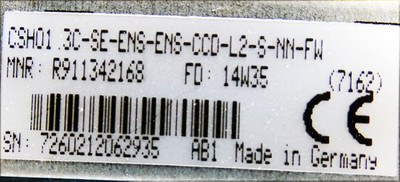 Rexroth CSH01.3C-SE-ENS-ENS-CCD-L2-S-NN-FW R911342168 + 128MB Ind. karte *used* – Bild 2