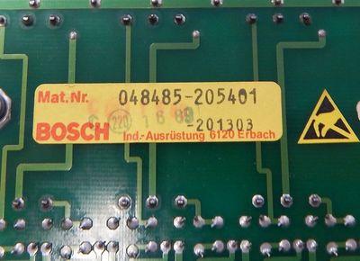 Bosch A24/2- Output-Karte Mat.-Nr.:048485-205401  - used - – Bild 3