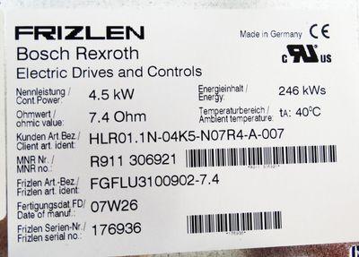 Rexroth Frizlen R911 306921 FGFLU3100902-7.4 *used* – Bild 2