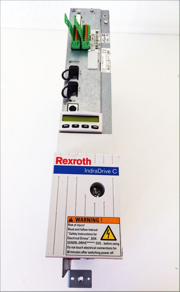 Rexroth IndraDrive HCS02.1E-W0028-A-03-NNNN + CSB01.1N-SE-ENS-NNN-NN-S-NN-FW *used* – Bild 2