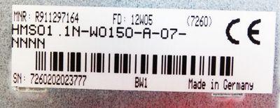 Rexroth HMS01.1N-W0150-A-07-NNNN + CSB01.1C-SE-ENS-EN2-L1-S-NN-FW *used* – Bild 2