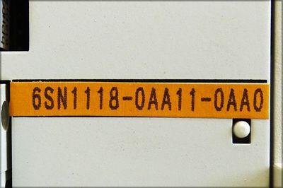 Siemens Simodrive LT-Modul 6SN1123-1AA00-0HA0 E: A + 6SN1118-0AA11-0AA0 *used* – Bild 3
