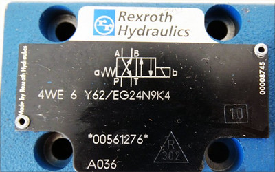 Rexroth Hydraulics 4WE 6 Y62/EG24N9K4 Magnetventil 24VDC 1,25A -unused- – Bild 2