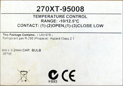 Johnson Controls 270XT-95008 -10/12.5°C Thermostat Temperaturfühler -unused/OVP- – Bild 3