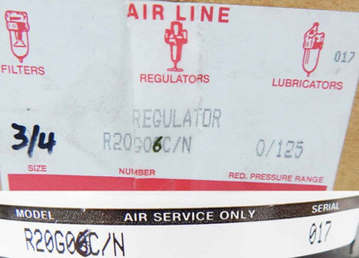AIR LINE Regulator R20G06C/N -unused/OVP- – Bild 3