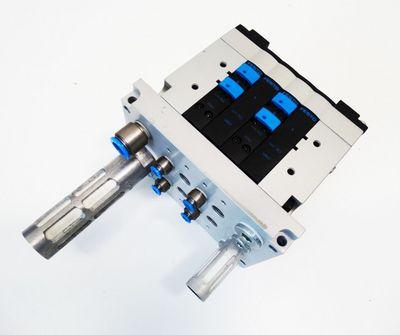 Festo CPV-18-VI 50391 + CPV18-GE-MP-4 18204 + CPV18-VI-P4-1/4-B -used- – Bild 1