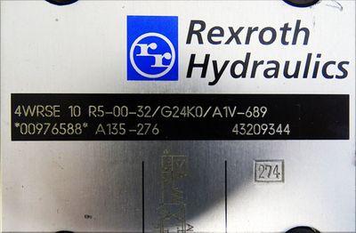 Rexroth 4WRSE 10 R5-00-32/G24K0/A1V-689 4WRSE10R50032/G24K0/A1V689 -used- – Bild 2