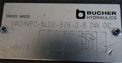 Bucher Hydraulics SWDRVPC-5LD0-BZR-D-6  24VDC -used- – Bild 3