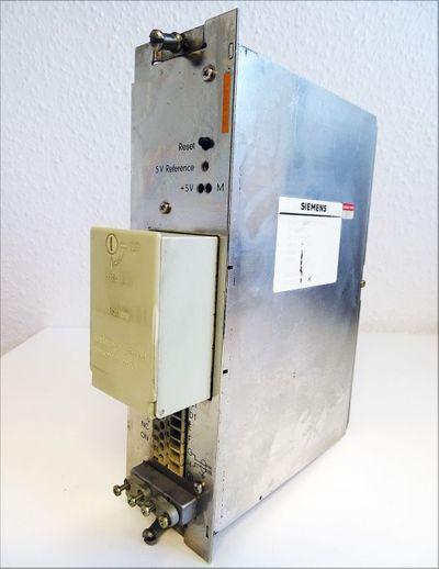 Siemens Sinumerik 6EV 3054-0FC  6EV3054-0FC Stromversorgung E-Stand: J -used- – Bild 1