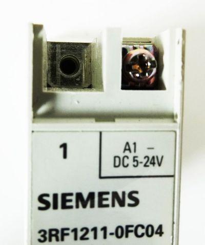 Siemens 3RF1211-0FC04 3RF1 211-0FC04 ohne Frontklappen -used- – Bild 4