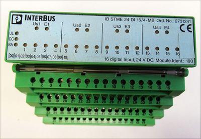 Phoenix Contact IB STME 24 DI 16/4-MB Nr.2731241+IBST24DI16/4-MB Nr. 2731186 -used- – Bild 2