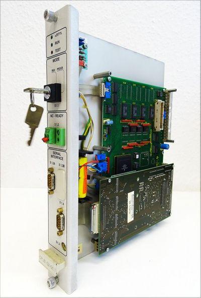 INDRAMAT CPUB 02-01-FW CPUB02-01-FW 261366 A01 + SIO 3-02/00 -used- – Bild 1