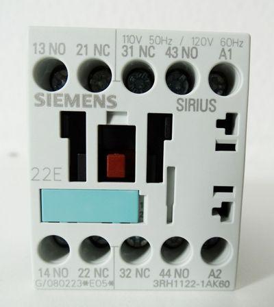 Siemens Sirius 3RH1122-1AK60 3RH1 122-1AK60 E-Stand: 05 -unused/OVP- – Bild 2
