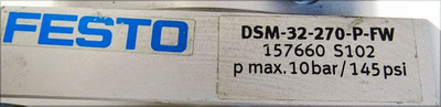 Festo DSM-32-270-P-FW  157660 S102 Schwenkmodul -used- – Bild 3