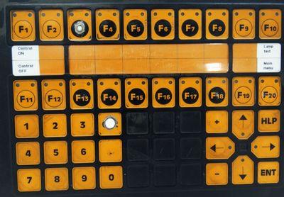 Lauer PCS 950 PCS950 950.000.5 130695 Tastatur beschädigt -used- – Bild 2