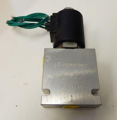 "Hydraforce Serie 08 No.7028730 Hydraulikventil 3-Wege 210 bar  3/8"" BSP -unused- – Bild 2"