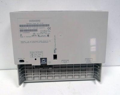 Siemens Simatic OP17-DP 6AV3617-1JC20-0AX1 6AV3 617-1JC20-0AX1 E: 04 -used- – Bild 2