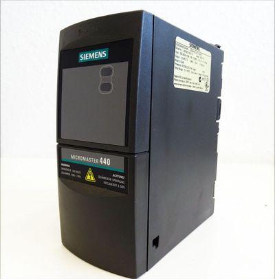 Siemens Micromaster 440 6SE6440-2UC11-2AA0  0.12kW E: A03/1.16 -used- – Bild 1