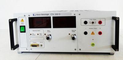 Knürr & Heinzinger PTN 250-5 PTN250-5 P/N 00.220.233.1 ohne Netzstecker -used- – Bild 2