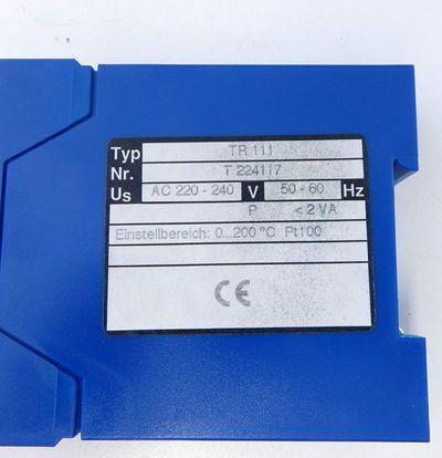 Ziehl TR111 Temperaturwächter  - used - – Bild 3