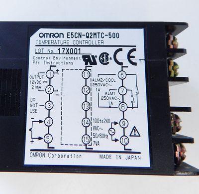 Omron E5CN-Q2MTC-500 digit. Temperatur-Controller  - used - – Bild 3
