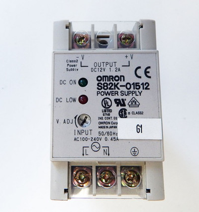 Omron S82K-01512 Power-Supply 12V DC 1,2A  - used - – Bild 2