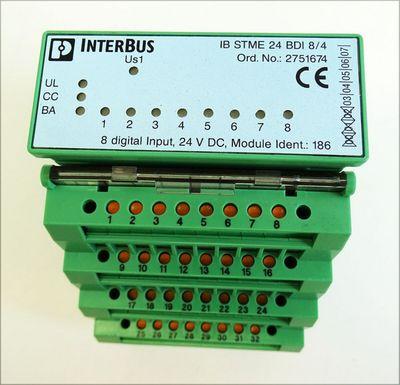 Phoenix Contact IB ST ZF 24 BDI 8/4  IBST ZF24 BDI 8/4 Art. Nr. 2750714 -unused/OVP- – Bild 2
