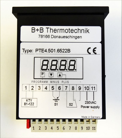 B+B Thermotechnik PTE4.501.6522B  KTY81 -unused/OVP- – Bild 3