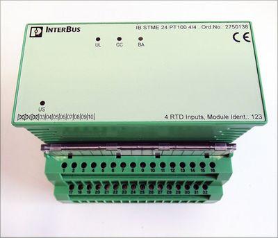 Phoenix Contact IB ST 24 PT100 4/4 Ord. Nr. 2752767 Eingangsmodul -unused/OVP- – Bild 2
