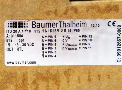 Baumer Thalheim ITD 20 A 4 Y10 -unused/OVP- – Bild 3