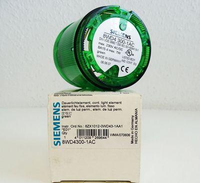 Siemens 8WD4300-1AC E: 01 Dauerlichtelement Grün -unused/OVP-  – Bild 1