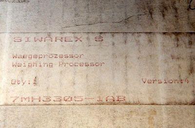 Siemens 7MH3305-1AB Wäge-Prozessor E-Stand:04 - used - in OVP – Bild 3