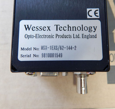 Wessex Technology WSX-1EXS/62-144-2 High-Speed-Bar-Code-Camera - unused - in OVP – Bild 3
