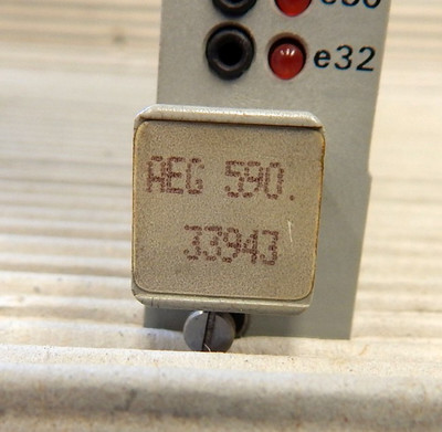 AEG Modicon A-800  590.33943  Eingabebaugruppe   DEP 085.2  - used - in OVP – Bild 3