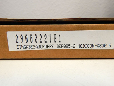AEG Modicon A-800  590.33943  Eingabebaugruppe   DEP 085.2  - used - in OVP – Bild 4