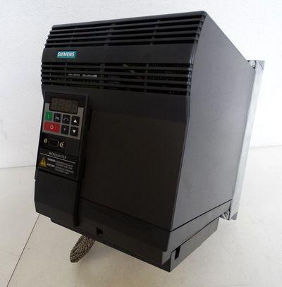 Siemens Micromaster 6SE9221-0DC40 E: D01 + 6SE3290-0DC87-0FA4 Netzfilter -used-  – Bild 1