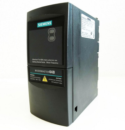 Siemens Micromaster 440 6SE6440-2UD13-7AA1 E-Stand:D05/2.11 -used- – Bild 1