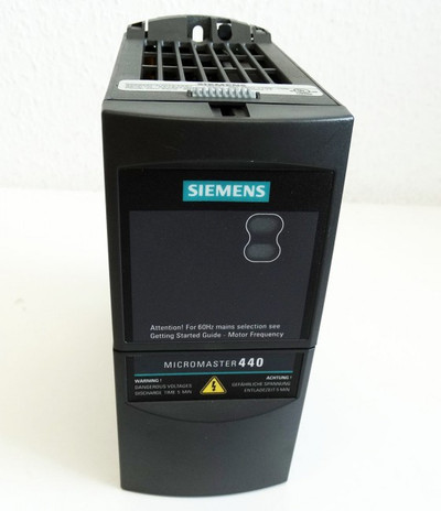 Siemens Micromaster 440 6SE6440-2UD13-7AA1 E-Stand:D05/2.11 -used- – Bild 2