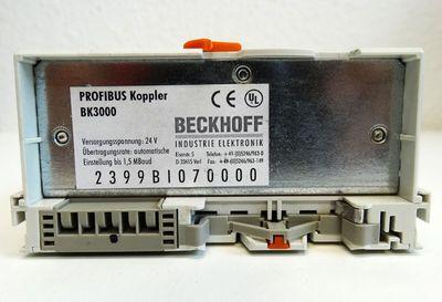 BECKHOFF BK3000 BK 3000 Profibus Buskoppler -used- – Bild 3
