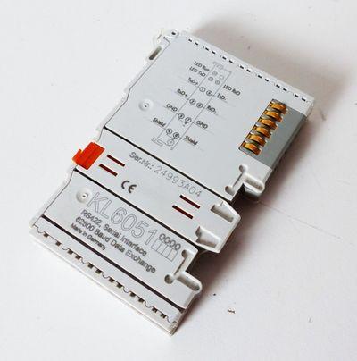 Beckhoff KL 6051 KL6051 Datenaustauschklemme mit serieller Schnittstelle -used- – Bild 1