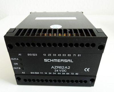 Schmersal AZR 62 A2 AZR62A2 24VDC Sicherheitsschaltrelais -unused/OVP- – Bild 2