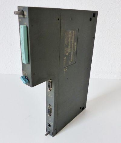 Siemens S7 6ES7416-2XK02-0AB0 6ES7 416-2XK02-0AB0 + 6ES7952-1AH00-0AA0 -used- – Bild 1