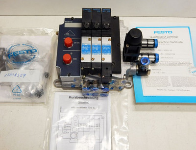 Festo Ventilinsel TN 18980 VIFB-03-B  - unused - in OVP – Bild 2