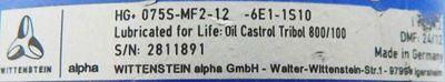 Alpha Getriebe HG+ 075S-MF2-12-6E1-1S10-used- – Bild 4