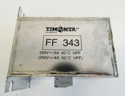 TIMONTA FF 343 FF343 Netzfilter -used- – Bild 2