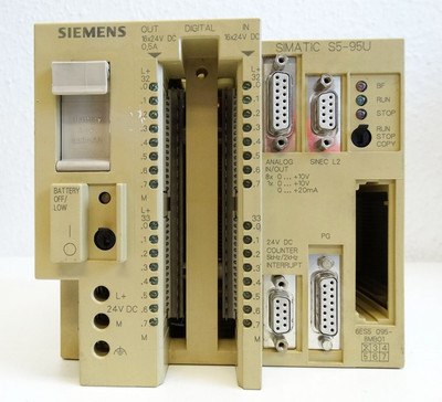 Siemens Simatic S5 6ES5 095-8MB01  6ES5095-8MB01 E-Stand: 2 -used- – Bild 2