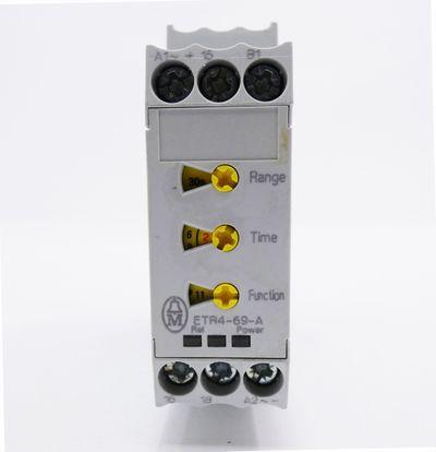 Moeller ETR4-69-A ETR469A DC 24-240V 0,05s-100h Zeitrelais -used- – Bild 2